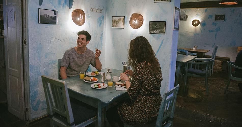 hotel amadeus prague breakfast area