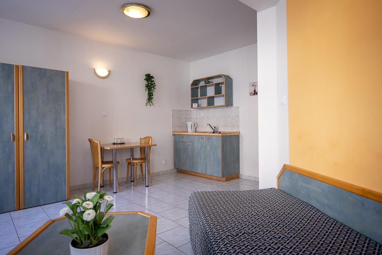 Standard: jednopokojový apartmán